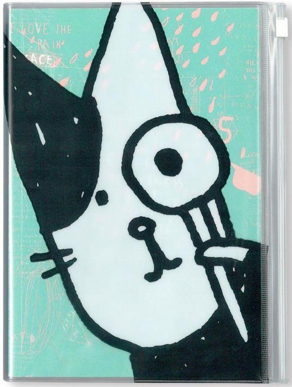 Bubu貓愛讀書萬用日誌(藍)