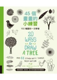 45個畫畫的小練習:900種圖形一次學會