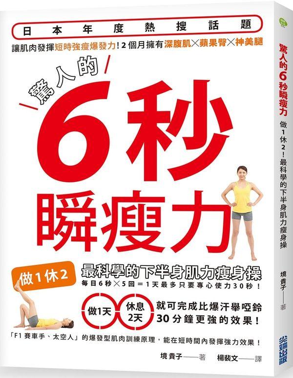 驚人的6秒瞬瘦力:做 1 休 2 !最科學的下半身肌力瘦身操