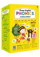 Power English: PHONICS 自然發音法學習繪本(全套6冊,1冊字母學習本+4冊字母拼讀本+1冊複習練習本&附專業外籍英語教師錄製學習音檔QR Code)