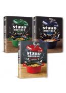 Staub鑄鐵鍋料理全書—肉類、海鮮、蔬菜(全套三冊.不分售)232道料理一次滿足
