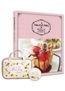 Dazzling❤蜜糖吐司:女孩們的Secret收納包甜點特輯組—經典白(內含收納包、小圓鏡、甜點書各一)