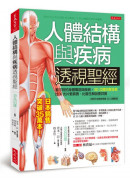 人體結構與疾病透視聖經:看不到的身體構造與疾病,3D立體完整呈現,比X光片更真實、比醫生解說更詳實(內附日本獨家授權3D立體動畫)