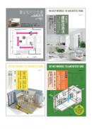 耐住宅設計規劃套書(共四冊):圖解住宅尺寸全書+家具設計 +日本式建築改造法+建築設備最新修訂版