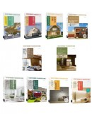 日本建築學技術‧美學‧工法套書(共十冊):建築入門+建築結構入門+綠建材知識+日式茶室設計+木構造+日本式建築改造法+建築材料+住宅植栽+裝潢建材+照明