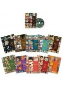 繪本音樂童話套書(全十冊,附DVD和紙書架)