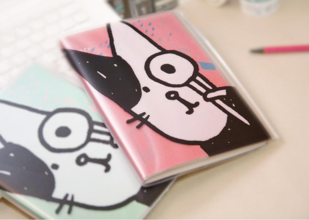 Bubu貓愛讀書萬用日誌(粉)