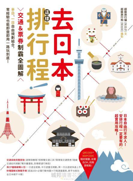 去日本這樣排行程!交通&票券制霸全圖解,半日、一日自由規劃組合,零經驗也能即查即用一路玩到底!