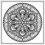 無盡的圓,寧靜的點與線:日耳曼哲思曼陀羅