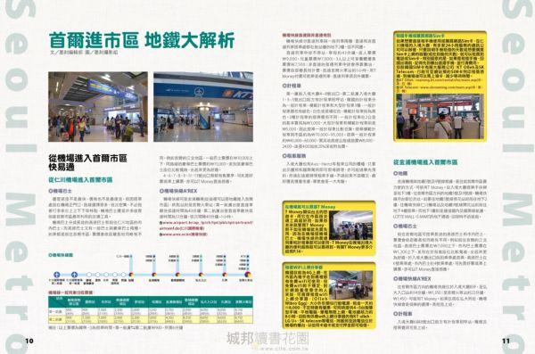 首爾地鐵地圖快易通2019-2020
