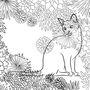 我的貓步時光:貓式閒情忘憂著色畫