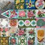 懷舊著色:台灣老花磚的花鳥樂園